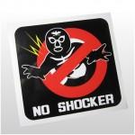 NO SHOCKER ステッカー